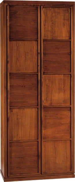 Cherry wood wardrobe SCACCHI | Cherry wood wardrobe by Morelato