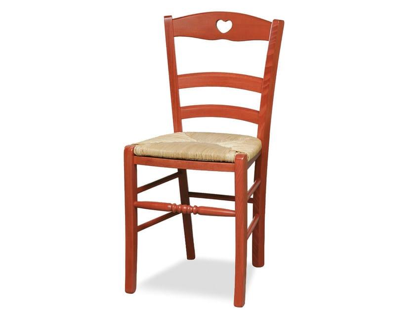 Beech chair PETIT COEUR 43 P - Palma