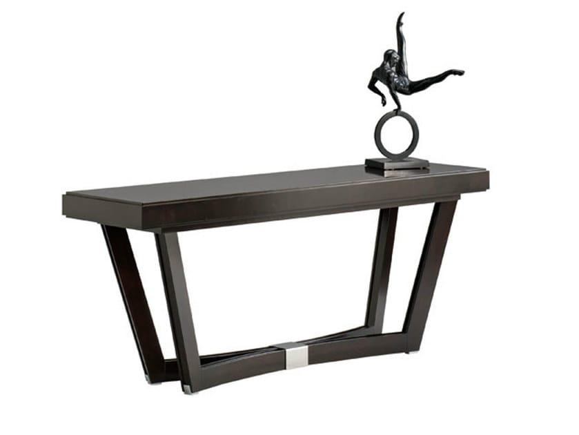 Rectangular wooden console table VENDÔME | Console table - SELVA