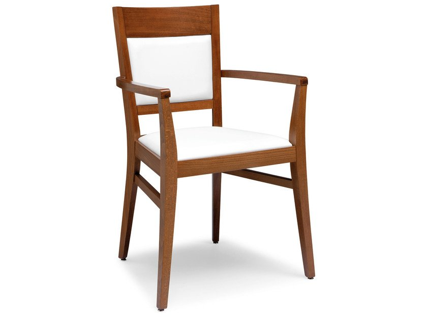 Beech chair with armrests SOUL 472 BP - Palma