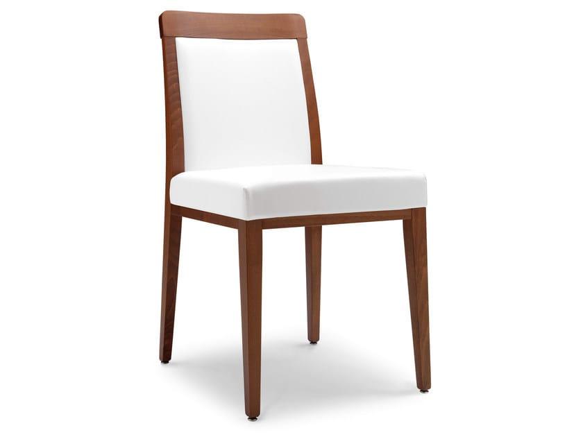 Upholstered beech chair OPERA BOHEME 49 E - Palma
