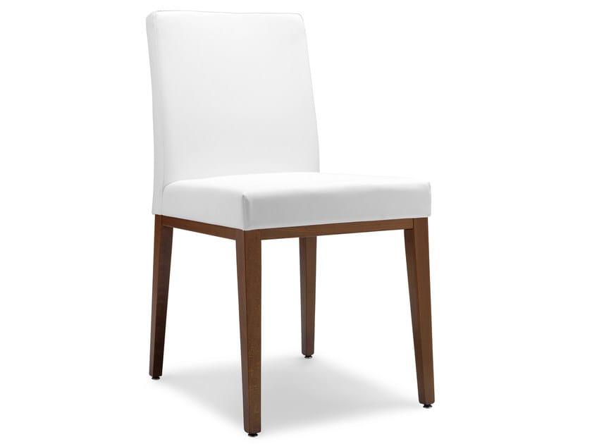 Upholstered beech chair OPERA CASTA 49 G - Palma