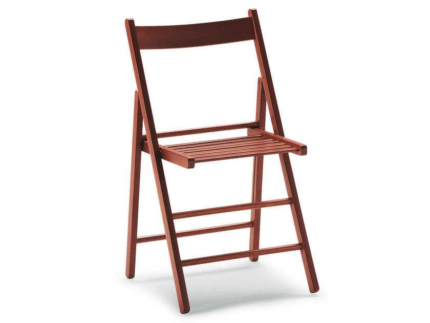 Folding beech chair ROBY 451 - Palma
