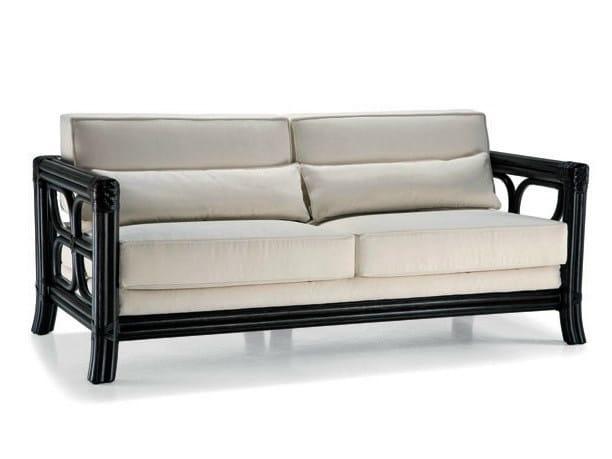 3 seater rattan sofa ARTÙ/N | 3 seater sofa - Dolcefarniente by DFN
