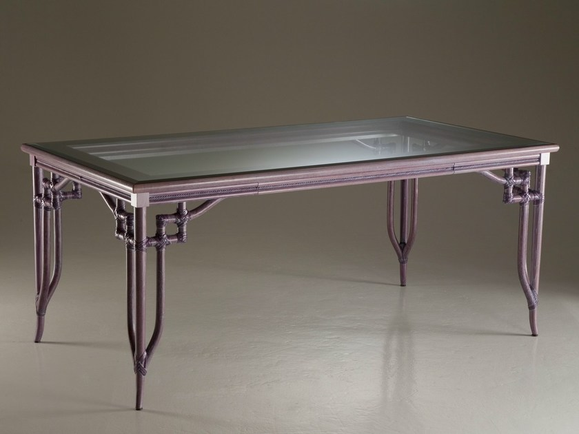 Rectangular crystal table DORIAN | Table - Dolcefarniente by DFN