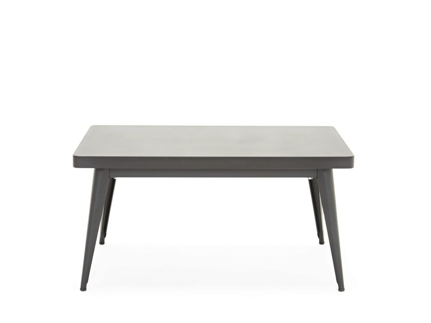 Low rectangular coffee table 55 | Low coffee table - Tolix Steel Design