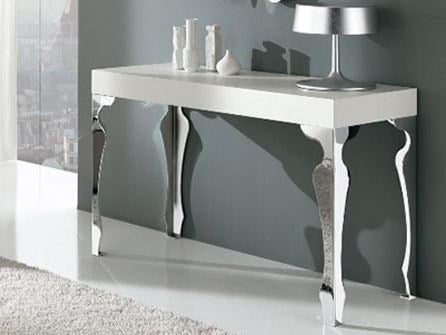 Lacquered rectangular console table LUXURY | Console table - RIFLESSI
