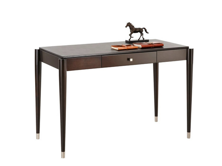 Wooden writing desk with drawers DOWNTOWN | Writing desk - SELVA