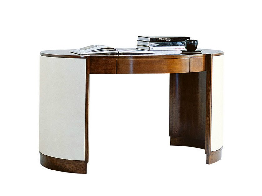 Wooden writing desk with drawers VICTOR | Writing desk - SELVA