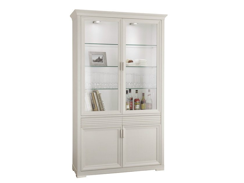 Classic style highboard with doors LUNA | Highboard - SELVA