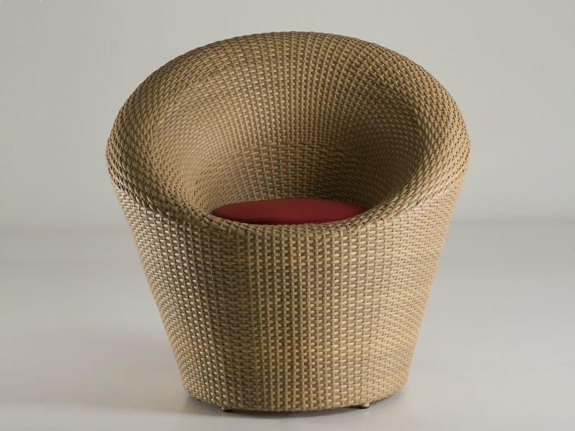 Resin garden armchair MARATEA | Garden armchair - Dolcefarniente by DFN