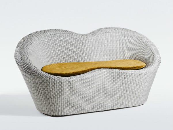 2 seater resin garden sofa MARATEA | 2 seater sofa - Dolcefarniente by DFN