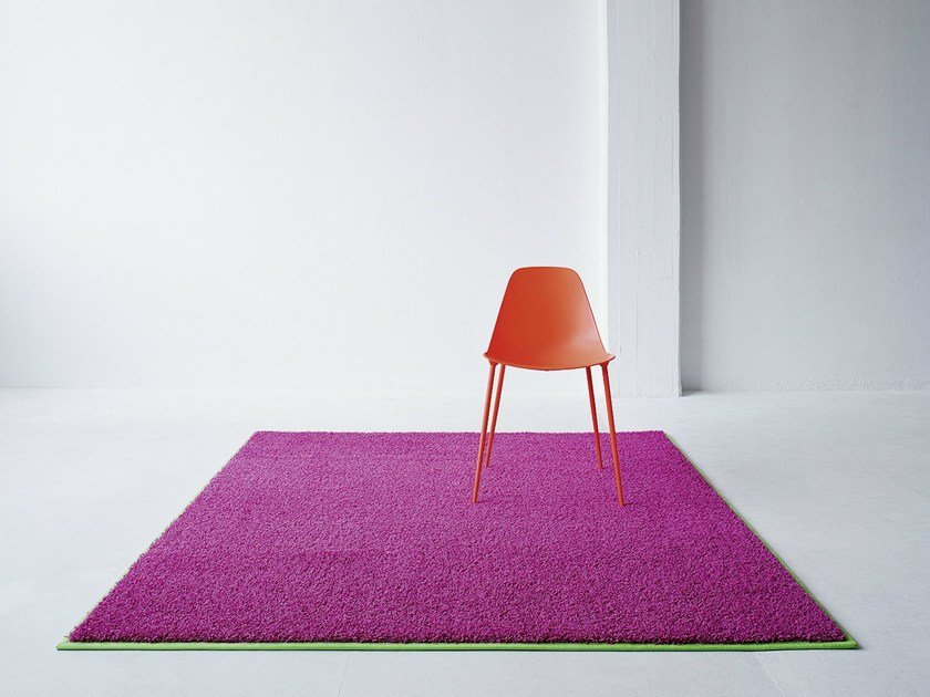 Solid-color rectangular rug NEON - OBJECT CARPET GmbH