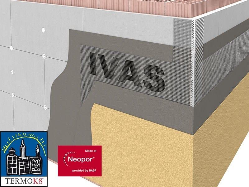 Exterior insulation system TermoK8® GRAFITE - Ivas Industria Vernici - GRUPPO IVAS