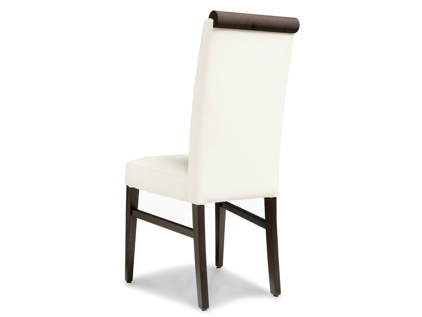 Upholstered beech chair LADY 47 OH - Palma