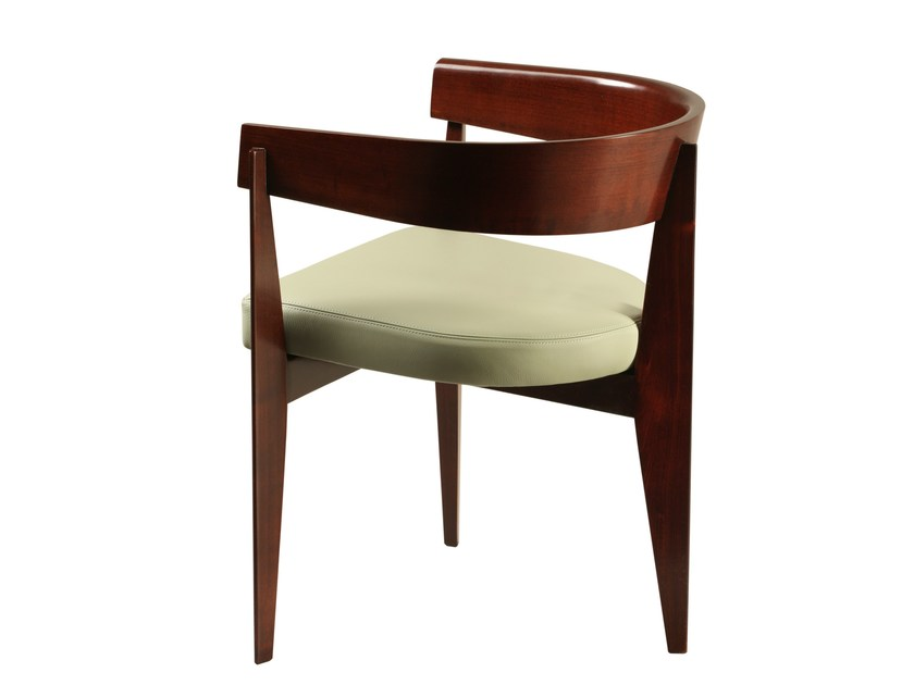 Cherry wood chair with armrests RONSON | Chair - Morelato