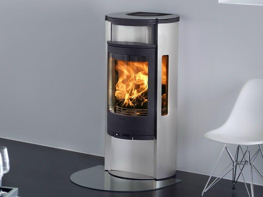 Stufa a legna in alluminio con forno contura 655a serie for Contura stufe