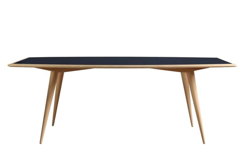 Rectangular ash table BON TON | Table - Morelato