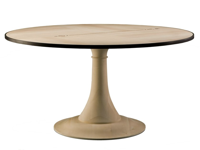 Round maple table NORD SUD - Morelato