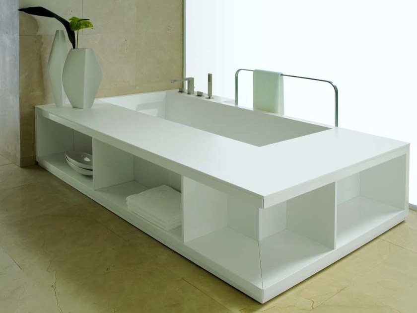 Rectangular bathtub STATUS by RIFRA