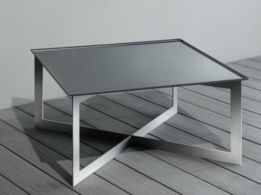 Rectangular steel coffee table SOFT | Rectangular coffee table - RIFRA
