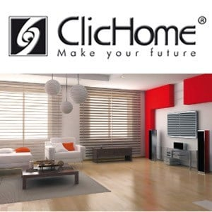 Building automation system for workplaces for management automation for hotel HOME AUTOMATION - Domotica ClicHome