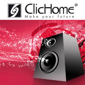 Sound and music amplification system AudioVideo Integration - Domotica ClicHome