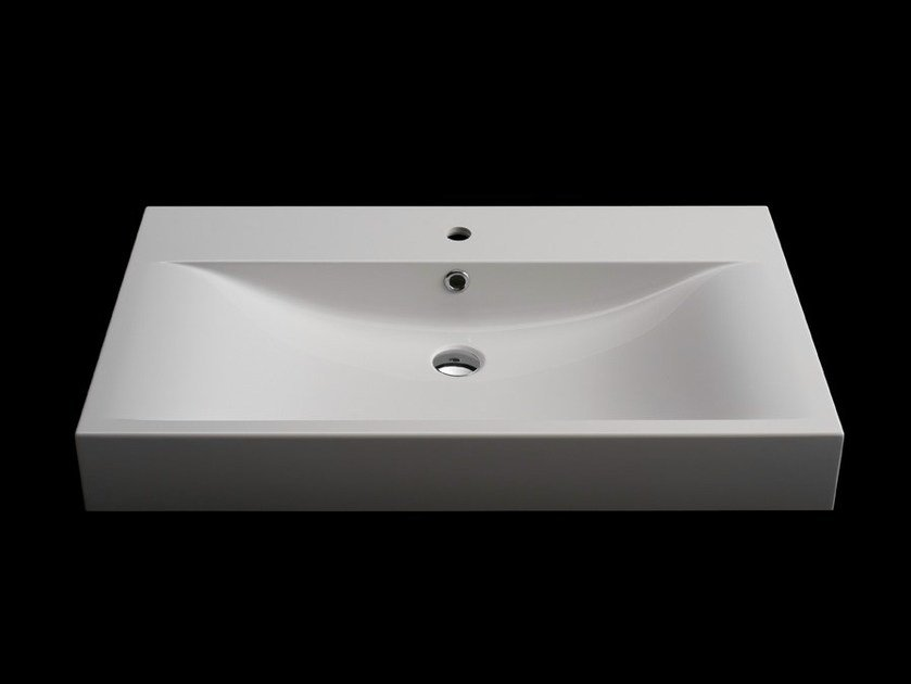 Countertop rectangular washbasin RETTANGOLO - RIFRA