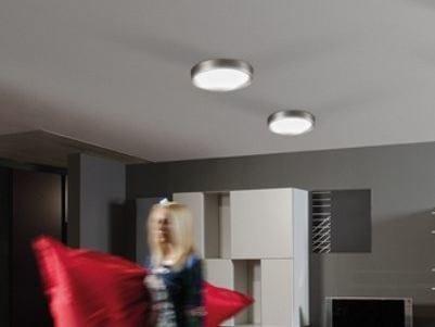 LED polycarbonate ceiling light AREO PLUS FLAT 350 | Ceiling light - Lombardo