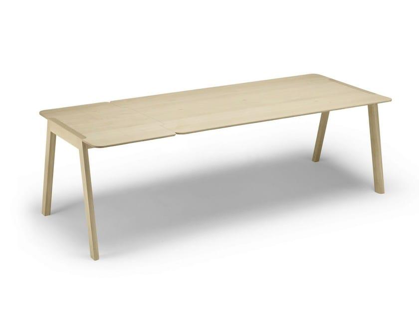 Extending oak table HELDU | Extending table - ALKI