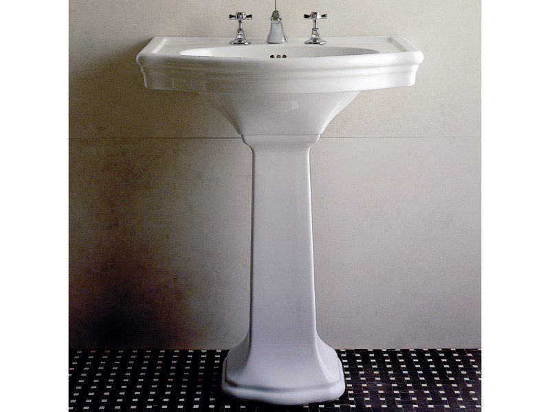 Pedestal ceramic washbasin NEW ETOILE | Washbasin - Devon&Devon