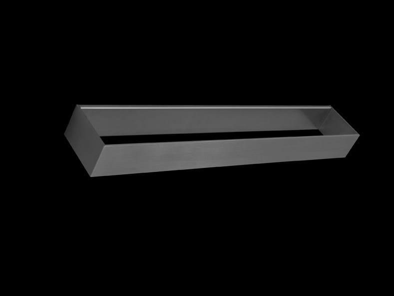 porta asciugamani mensola bagno in acciaio inox clean. Black Bedroom Furniture Sets. Home Design Ideas