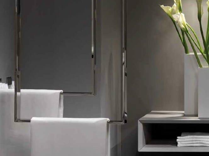 Porta asciugamani da soffitto in acciaio inox clean - Portapentole da soffitto ...