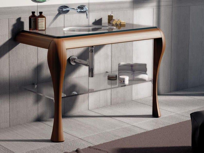 Single ash console sink AIR 03 - LASA IDEA