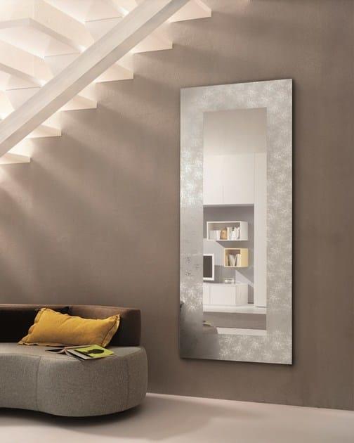 Specchio rettangolare a parete per ingresso holly riflessi - Parete a specchio per ingresso ...