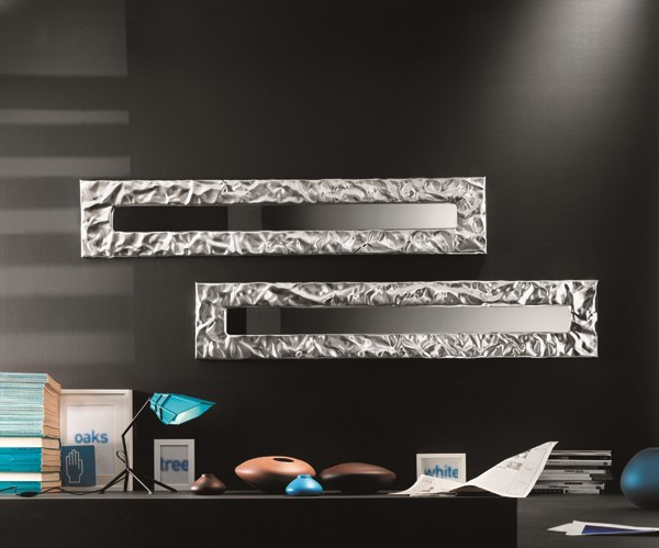 Wall-mounted framed mirror MITO | Mirror - RIFLESSI