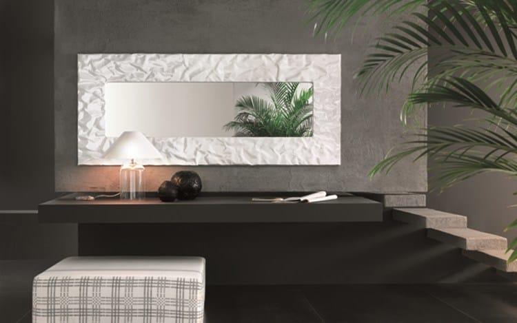Specchio a parete con cornice mito specchio riflessi - Cornici specchi moderne ...
