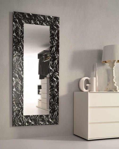 Specchio In Stile Moderno A Parete Con Cornice Per