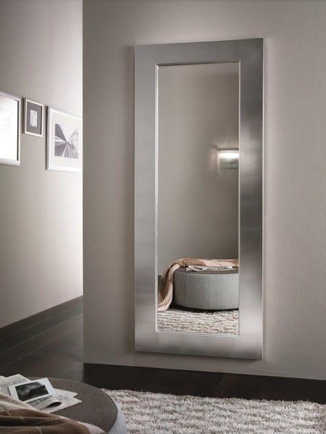 Specchio a parete con cornice urania riflessi - Specchio ingresso design ...
