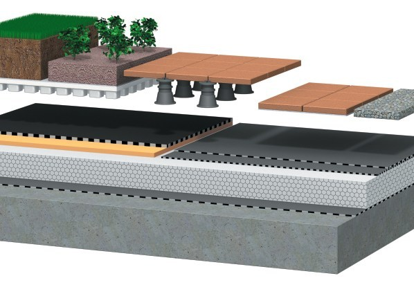 pannelli di eps per l isolamento di tetti piani e. Black Bedroom Furniture Sets. Home Design Ideas