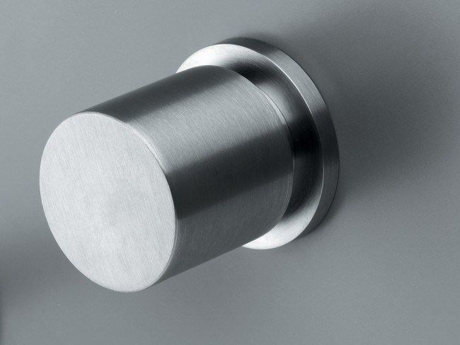 Wall-mounted stainless steel washbasin tap COCOON MONO 1 - COCOON