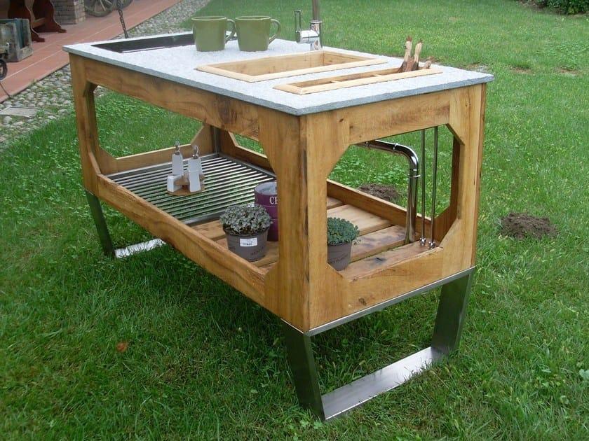 Electric outdoor kitchen WINDOW - Lgtek Outdoor