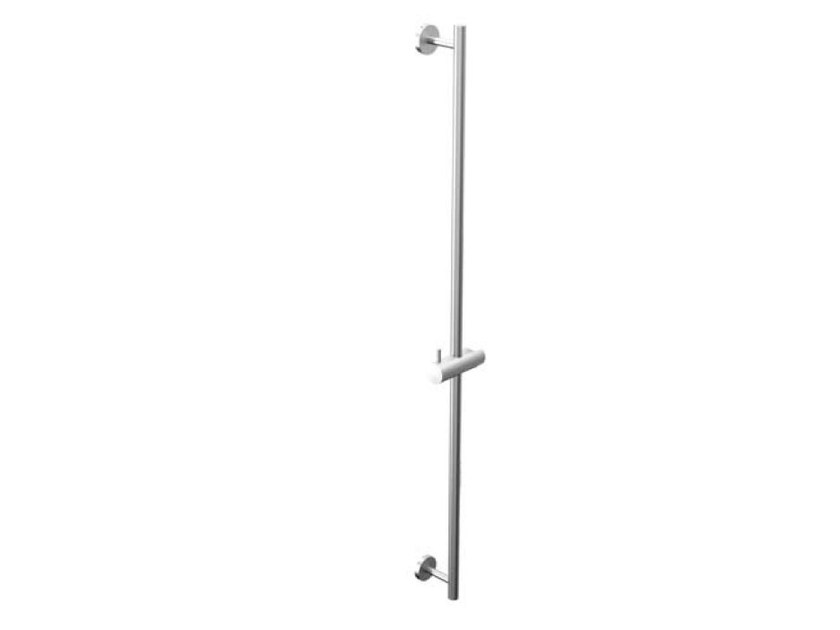 Stainless steel shower wallbar COCOON MONO 90 - COCOON