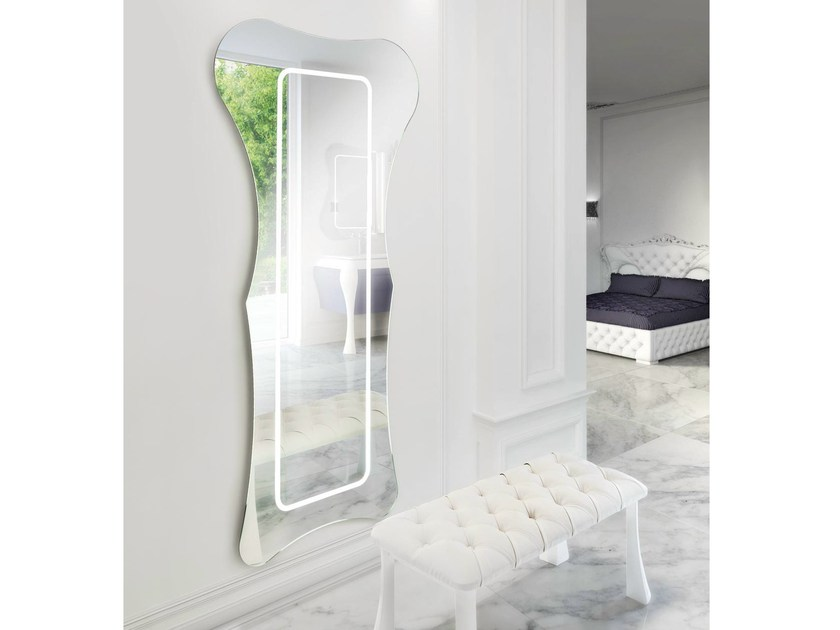 Design bathroom mirror GAU-150 by LASA IDEA