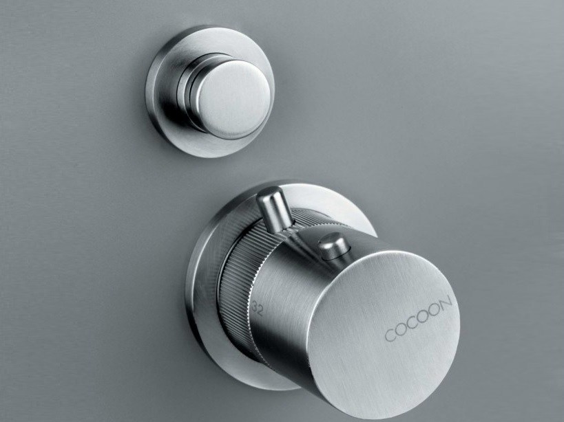 Thermostatic shower mixer with diverter COCOON MONO 02THERM - COCOON