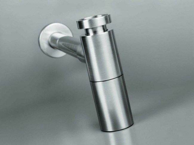 Stainless steel sink siphon COCOON MONO 50 - COCOON