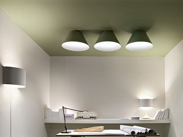 Direct light ceiling lamp USL 6031 RECESSED by FLOS