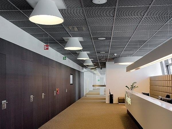 Direct light ceiling lamp USL 6060 FOR MODULAR CEILING by FLOS