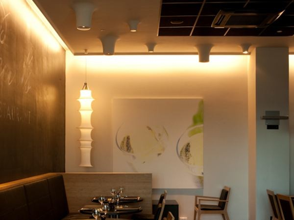 Built-in lamp / ceiling lamp USO BOOB 600 FOR MODULAR CEILING - FLOS