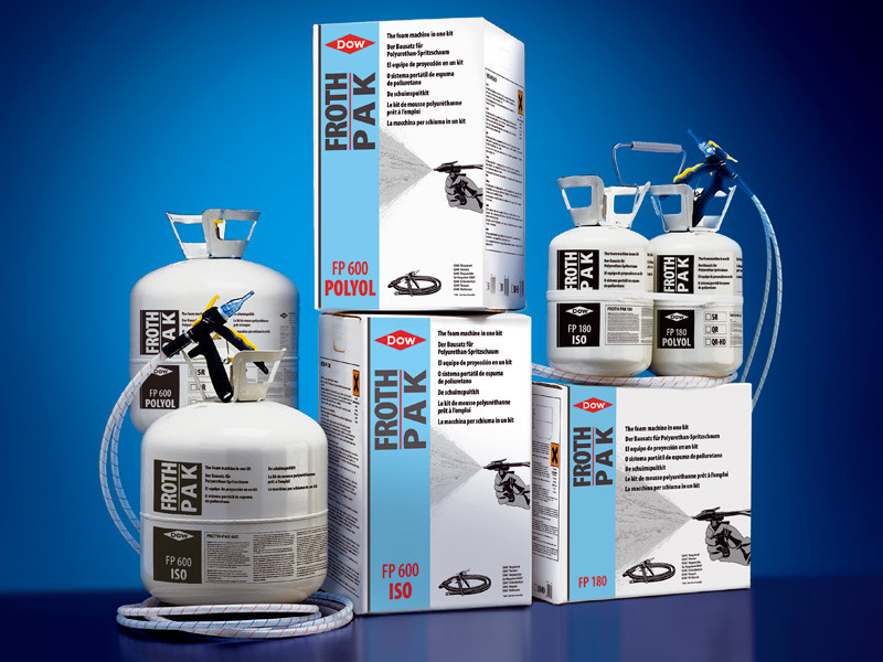 Spray-applied insulation FROTH-PAK - DOW Building Solutions - Soluzioni per l'edilizia